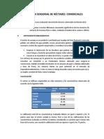 EVALUACION SENSORIAL DE NÉCTARES  COMERCIALES