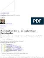 DooMailer learn how to send emails with new DooMailer class « Learn DooPHP