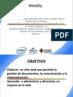 creacion de pagina weebly diapositiva