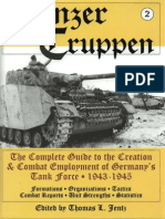 Schiffer Military History - Panzertruppen Vol.2 - Germany's Tank Force 1943-45