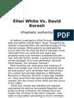 Ellen White vs. David Koresh