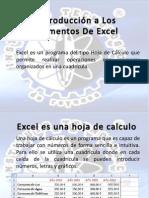 01 Introducción a Los Elementos De Excel