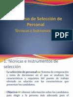 PROCESO DE SELECCIÓN PERSONAL