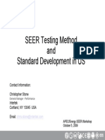 6_SEER Testing Method and Standard Development in US