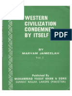 Western Civilization Condemned by Itselft 1