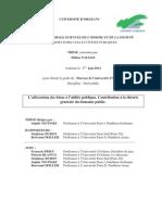 L'affectation des biens à l'utilité publique. Contribution à la théorie.pdf