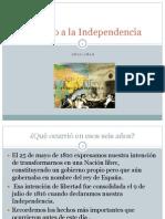 Camino a la Independencia versión con cambios