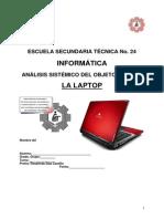 Analisis Sistemico de La LAPTOP