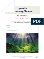 Synesius on Dreams - Tr. Fitzgerald