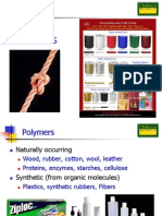 Lecture 6 - Polymers