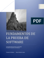Fundamentos de La Prueba de Software