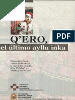 Óscar Núñez Del Padro - Q_ero, el último ayllu inka