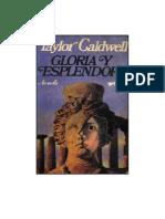 Taylor Caldwell, Janet - Gloria Y Esplendor
