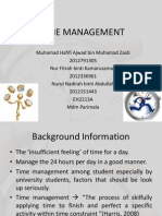 Time Management Presentation Rev c