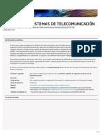 Ingeniería de Sistemas de Telecomunicación