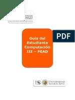 Guia Del Estudiante Pead - c 2013