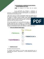 FORMAS Y SISTEMAS DE APROVECHAMIENTO DE ENERGÍA SOLAR
