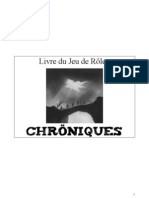 Le livre du jdr Chöniques mise a jour 2