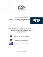 Estrategia Nacional Forestal