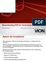 Demonstrating ROI - Ed Mann