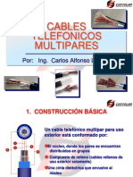 Cables Telefonicos Multipares