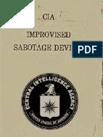 Improvised Sabotage Devices