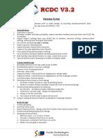 RCDC V3.2 Release Notes