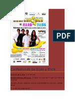 Confesiones de Ellas y Ellos Presupuesto 2010(Maracay y Valencia)