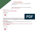 Etiquetas de Movimiento en HTML