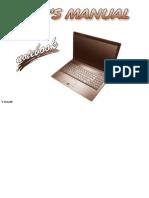 User's Manual - SaJger Laptop
