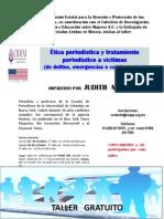 Cartel ética periodistica final