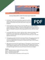 Summary of Senate Bill 416 - North 710 Corridor Surplus Property Sales