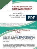 Taller Teorico de Prestaciones (Industria de La Construccion Diapositiva) (1)