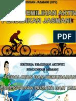 Kriteria Pemilihan Aktiviti PJ- Peralatan Dan Kemudahan & Persekitaran Budaya & Tempat