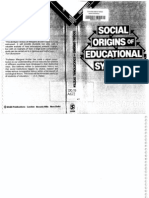 Archer Margaret S. Social Origins of Educational Systems