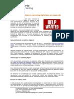 Mercado de Trabalho Marketing Digital