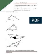 exercícios de triângulo