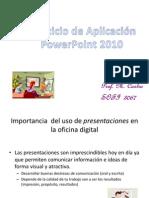 Instrucciones Laboratorio Powerpoint 2010