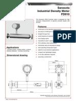 FD910 Density Meter
