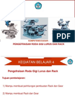 Modul Roda Gigi Lurus & Rack
