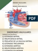 SINDROMES VALVULARES