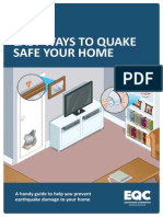 Quake Safe Your Home 2012
