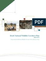 Draft National Wildlife Corridors Plan