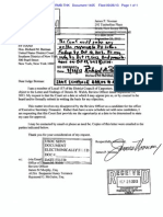 9-26-13 Case 1-90-cv-05722-RMB-THK Document 1405 (ENDORSED LETTER addressed to Judge Richard M. Berman from James P Noonan)
