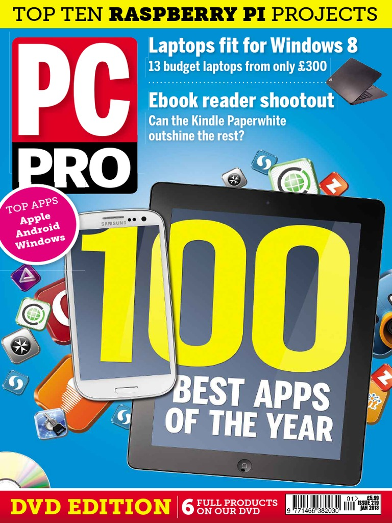Pc pro 2013 01 print robdown windows 8 personal computers fandeluxe Image collections