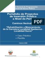 Caminos Vecinales - Caso Practico y Plantilla