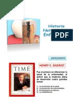 Historia Natural de La Enfermedad Caries y Periodontopatias