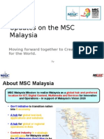 Updates on the MSC Malaysia Digital Content Industry