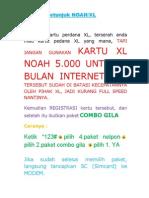 Petunjuk Penggunaan Corporation Noah
