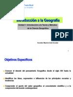 Unidad 1 - Introducción a la Geografía.